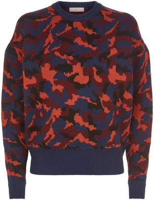 Joie Brycen Camouflage Sweater