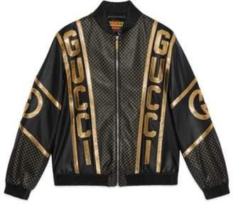 Gucci Dapper Dan bomber