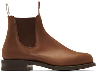 R.M. Williams Brown Comfort Turnout Chelsea Boots