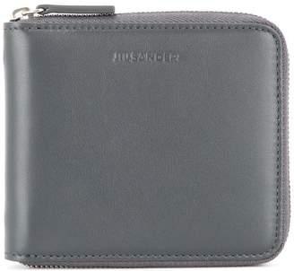Jil Sander zip-around square wallet
