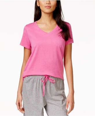 Hue Solid Short Sleeve Sleep Tee