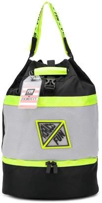Fiorucci X FUN SOCKS perforated backpack