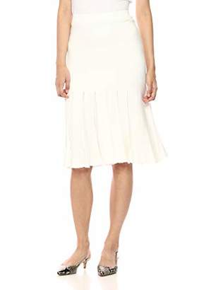 Theory Women's Pleated Midi Skirt
