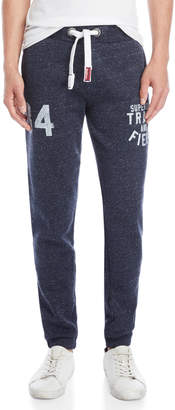 Superdry Navy Trackster Joggers