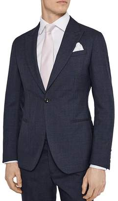 Reiss Terrance Wool Slim Fit Suit Jacket