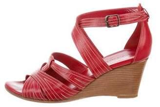 Balenciaga Multistrap Wedge Sandals