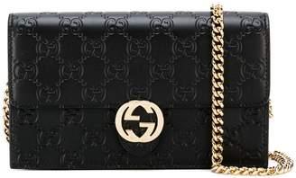 Gucci Signature Icon chain wallet