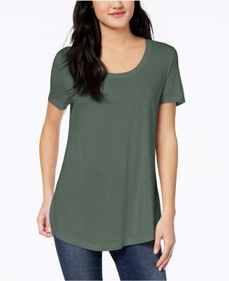 Maison Jules Scoop-Neck T-Shirt