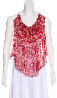 Isabel Marant Étoile Sleeveless Silk Top