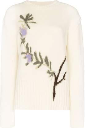 Jacquemus Romarin floral-intarsia jumper