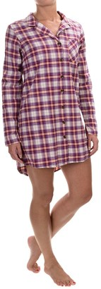 Life is good® Plaid Woven Sleep Shirt - Long Sleeve (For Women) $29.99 thestylecure.com