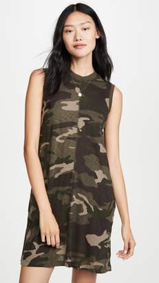 ATM Anthony Thomas Melillo Camo Tank Dress