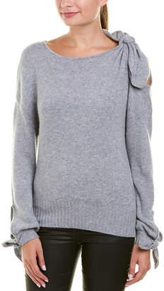 Derek Lam 10 Crosby Bow Cashmere Sweater