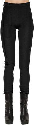 Rick Owens Stretch Cashmere Knit Leggings
