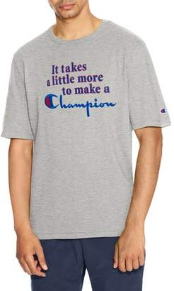 Champion Takes A Little More Heritage Graphic T-Shirt