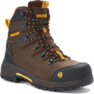 3640293bfd8 Wolverine Brown Safety Toe Men's Shoes | over 50 Wolverine Brown ...