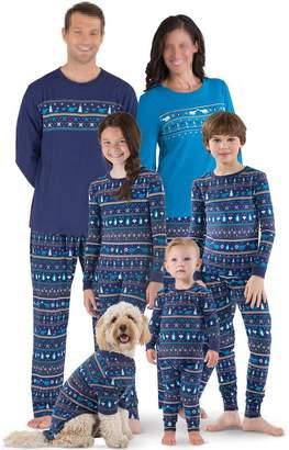 Moore Christmas Family Matching Elephant Printed Pajamas Sets Sleepwear Nightwear (, XL)