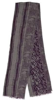 Bottega Veneta Wool & Silk-Blend Scarf w/ Tags