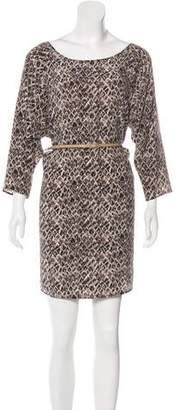 Joie Bateau Neck Long Sleeve Dress