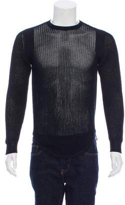 Givenchy Knitted Crew Neck Sweater