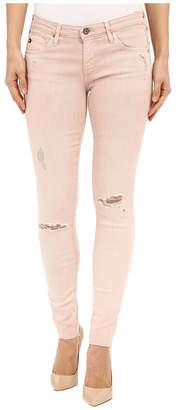 AG Adriano Goldschmied The Leggings Ankle in Sun Faded Distressed Sandy Rose Women's Casual Pants