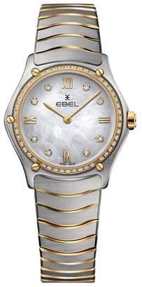 Ebel Sport Classic Diamond Bracelet Watch, 29mm