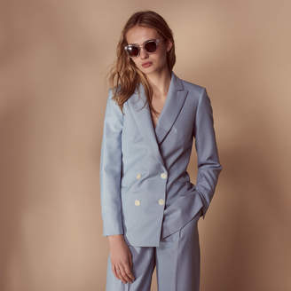 Sandro Sky blue tailored jacket
