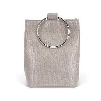 Jessica McClintock Gwen Sparkle & Shine Ring Pouch Clutch