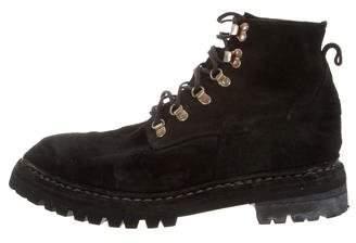 Guidi Distressed Hiking Boots