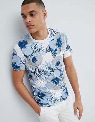 Selected T-Shirt With All Over Print