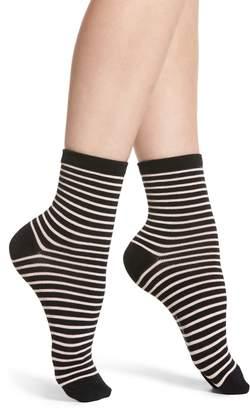 Richer Poorer Skimmer Stripe Socks