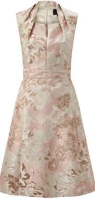 Ariella Rose Jacquard Dress Jacket Set