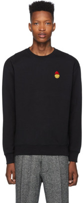Ami Alexandre Mattiussi Black Smiley Edition Sweatshirt