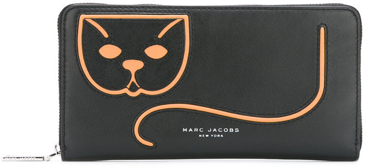 Marc Jacobs Marc Jacobs cat etched purse
