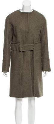Reed Krakoff Wool Collarless Coat