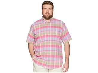 Polo Ralph Lauren Big Tall Madras Short Sleeve Sport Shirt