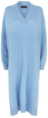 eskandar Knitted Sweater Dress