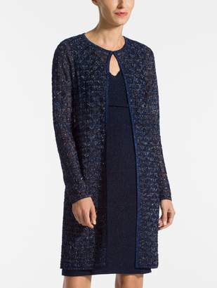 St. John Diamond Lace Knit Jacket