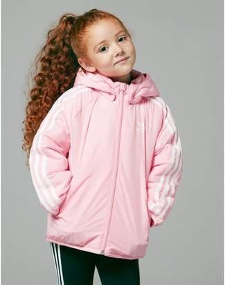 3db5a1406df1 adidas Girls  Trefoil Padded Jacket Children