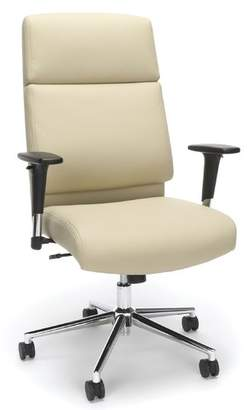 Latitude Run Huertas High Back Bonded Manager Leather Executive Chair