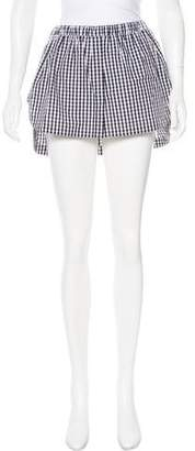 No.21 No. 21 Gingham Mini Skirt w/ Tags