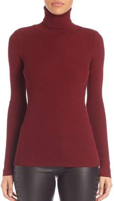 SET Women's Ribbed Turtleneck Sweater