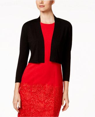 Calvin Klein Lace-Back Shrug $49.98 thestylecure.com