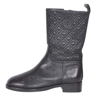 Tory Burch Leather biker boots