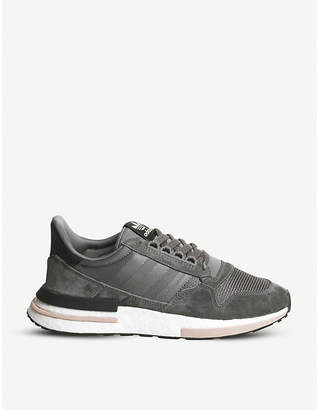58a9f4e190f6 adidas Grey Suede Shoes For Men - ShopStyle UK