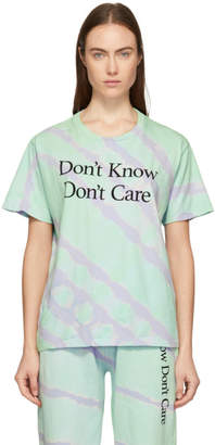 Ashley Williams Green Tie-Dye Dont Know T-Shirt