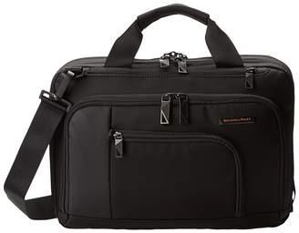 Briggs & Riley Verb Contact Small Brief Briefcase Bags