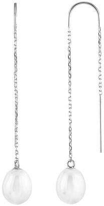 Splendid Pearls 14K 7.5-8Mm Freshwater Pearl Earrings