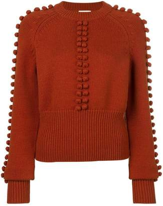 Chloé pompom knit sweater