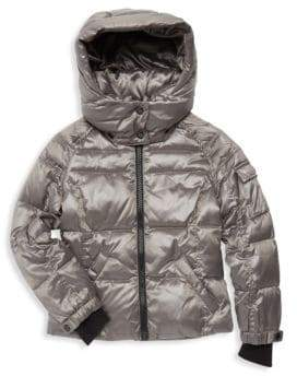 S13/Nyc Little Girl's Quilted Down Jacket